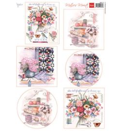 Marianne D Knipvel MB0172 - Mattie's mooiste: needlework