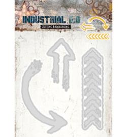Studio Light STENCILIN70 - Industrial 2.0, Nr.70