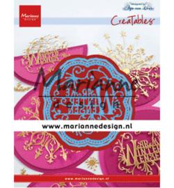 Marianne D Creatables LR0619 - Anja's Warme Winter Wensen