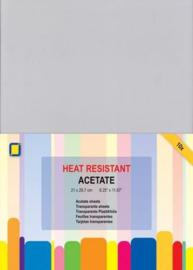 Acetate transparante sheets hitte bestendig A4 10vel