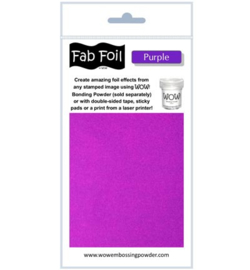 Fabulous Foil - Purple
