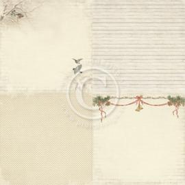 Pion Design - Winter in Swedish Lapland - Winter bird - 12x12 (4x 6x6)