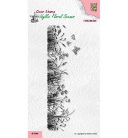 Nellie`s Choice - IFS048 - Slim line Meadow with Butterflies