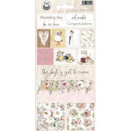 Piatek13 - Sticker sheet Always and forever 02 P13-ALW-12 10,5x23cm