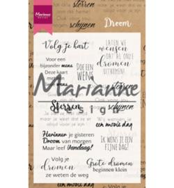 Marianne D CS1019 - Droom teksten NL