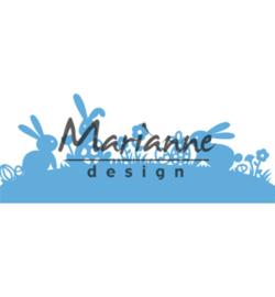 Marianne D Creatables LR0588 - Bunny border