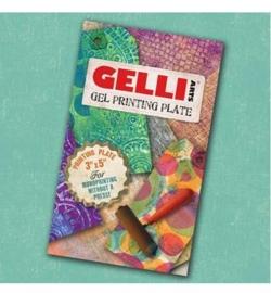 "Gelli Arts Printing Plate 3""x5""/7,62x12,7 cm"