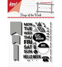 Noor! Design - 6004/0036 - Days of the week