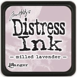 Tim Holtz distress mini ink milled lavender