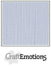 CraftEmotions linnenkarton diamant wit 30,5x30,5cm