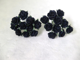 Middle Rose - Black