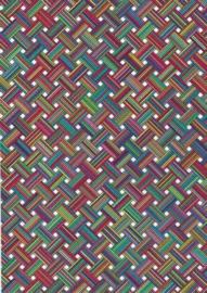 Flexfolie Design Maze per m. (Rolbreedte 49 cm)