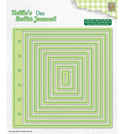 Nellie`s Choice - NBJD001 - Basic page cutting dies