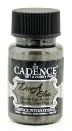 Cadence Dora Glas & Porselein verf Metallic Anthracite 01 013 3138 0050 50 ml