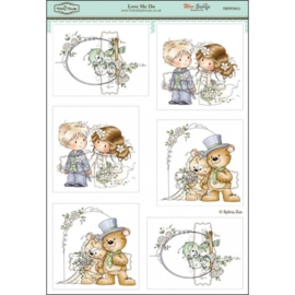 The Hobby House Wee Stamps - Love Me Do (HHWS012)