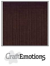CraftEmotions linnenkarton - chocolade LHC-79 A4 250gr