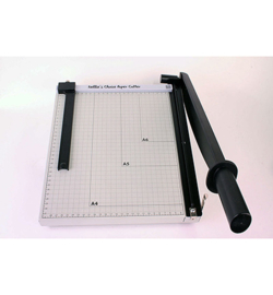 Nellie`s Choice PAT001 - XL metal Papercutter with slider (metric-scale)