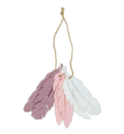 63126-100-506 - Feathers, Dusky Lilac