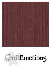 CraftEmotions linnenkarton - mahoniebruin LHC-78 A4 250gr