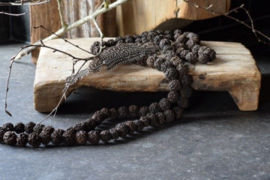 Rudraksha ketting - Rosery bruin - 40 cm