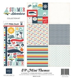 Echo Park Summer Adventure 12x12 Inch Mini Theme (SW4105)