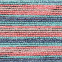 Rico Design - Baby Cotton Soft Print dk 383040.023 Red - Teal