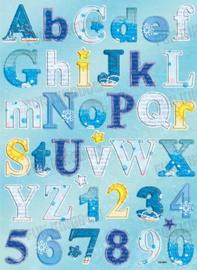 Chipboard alfabet - CB-3003