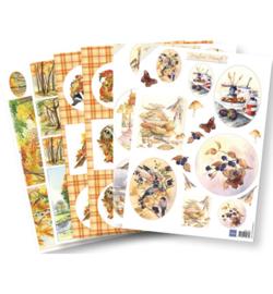 Marianne D Knipvel PA4071 - Decoupage set: Autumn