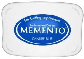 Memento inktkussen Danube blue