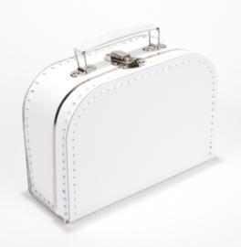 Koffertje WIT 20 cm