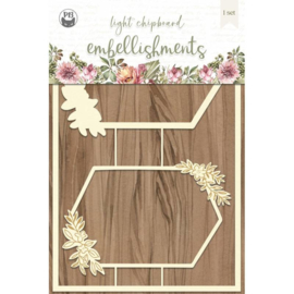 Piatek13 - Chipboard embellishments Always and forever 03 P13-ALW-45