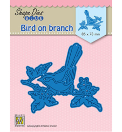 Nellie`s Choice - SDB073 - Bird on branch