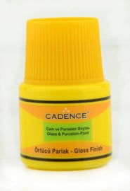 Cadence Opague Glas & Porselein verf Citroen geel 01 049 0755 0045 45 ml