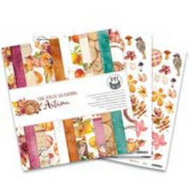 Piatek13 - Paper pad The Four Seasons - Autumn, 12x12 P13-AUT-08