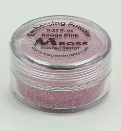 Embossing powder - Rouge Pink