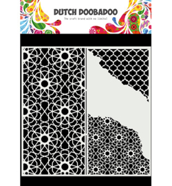 Dutch Doobadoo - 470.784.004 - Mask Art Slimline Cracked Patterns