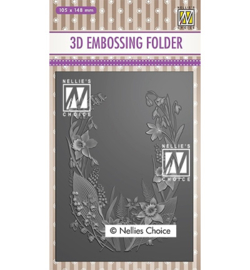 Nellie`s Choice - 3EF3D020 - Flower frame