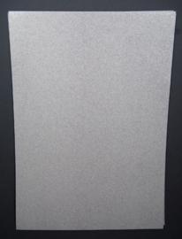Papierset A4, glitter wit