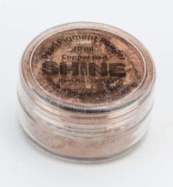 Pearl Pigment Powder - Shine - Copper Red