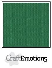 CraftEmotions linnenkarton loofgroen 30,5x30,5cm