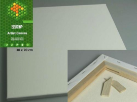 Canvasdoek 30x70CM 1,7 cm 420gram