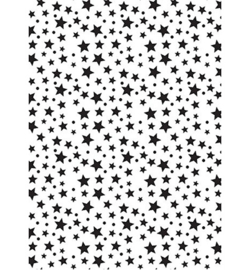 Nellies Choice Lasercut Stencil - NMMS026 - Stars