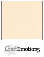 CraftEmotions linnenkarton zand 30,5x30,5cm