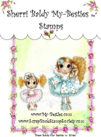 My-Besties Sisters Clear Rubber Stamp