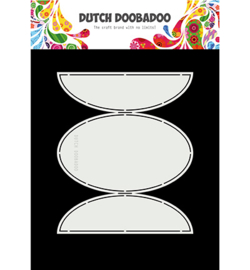 Dutch Doobadoo - 470713337 - Dutch Swing Card art Oval flaps
