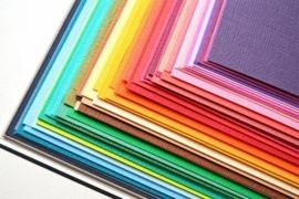 Cardstock / Effen papier