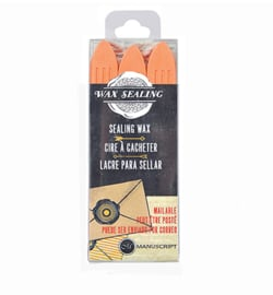 MSH7633PCH - Peach - Sealing Wax with Wick