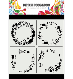 Dutch Doobadoo - 470.715.628 - Mask Art Circle Grunge