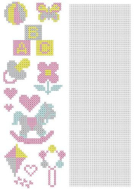 Nellie`s Choice CrossCraft Pattern-3 Baby CCPAT003 A4