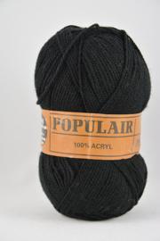 Beijer - Populair Perlé 12 Zwart